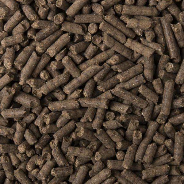 particolare del fertilizzante pellettato