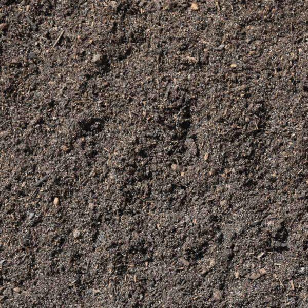 particolare del substrato ideale per i tappeti erbosi